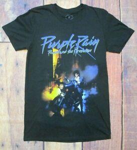 "Men/'s Official Prince /""Purple Rain/"" Short Sleeve Graphic T~Shirt Size SM /& MED"