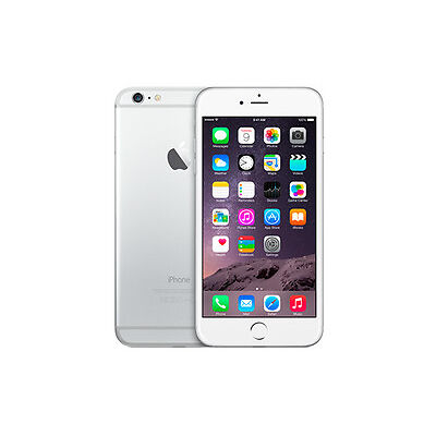 NEW Apple iPhone 6 Plus 16GB Silver Bluetooth Touch Screen iPhones