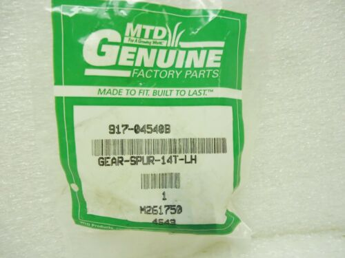 RC MTD 917-04540B Gear Spur 14T LH