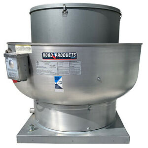 Details about Commercial Restaurant Kitchen Exhaust Fan - 900-1500 CFM with  Speed Control