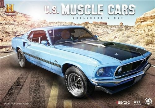 1 of 1 - US Muscle Cars (DVD, 2016, 4-Disc Set)