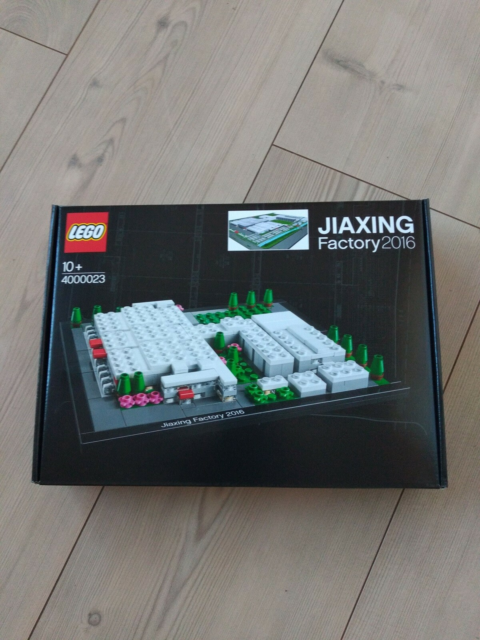 Lego Exclusives, JIAXING Factory 2016, Flot uåbnet…