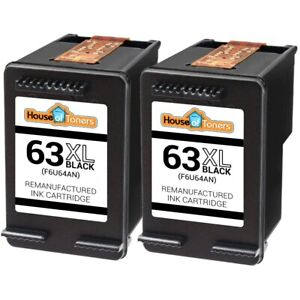 2PK-Ink-HP-63XL-F6U64AN-for-HP-Officejet-3830-3831-3832-3834-4650