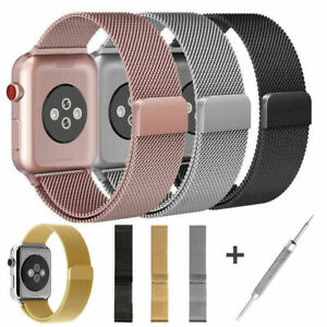 For Apple Watch Series 5 4 40mm 44mm Magnetic Milanese Loop Band Stainless Steel Ebay