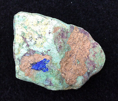 Papagoite in Chrysocolla Specimen - Stone of Tranquility, Crystal Healing