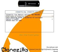 Clonezilla Live USB 8GB USB3 Stick  kein no Ghost Clone Backup True Image