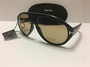 d2dbd1f4659 New Authentic Tom Ford Tom N.8 63E Private Collection Black Horn ...
