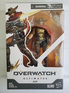 Overwatch-Ultimates-Hasbro-Jesse-McCree-Figure-Collectible-6-034-Blizzard-Damage