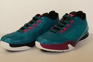 9d0e9651ad50da Nike Air Jordan CP3 VIII 8 GS Sz 7Y 684876 327 Teal Blue Pink Chris ...
