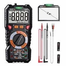 Digital Multimeter Trms 6000 Countsled Intelligent Indicator Jack Manul