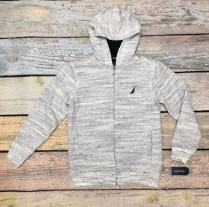 Nautica Boys Expedition Sherpa Fleece Full Zip Hoodie