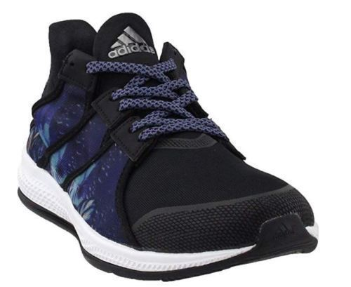 Neuf Femmes Adidas Gymbreaker W Baskets/Course/Athletic Maille Noir Chaussures