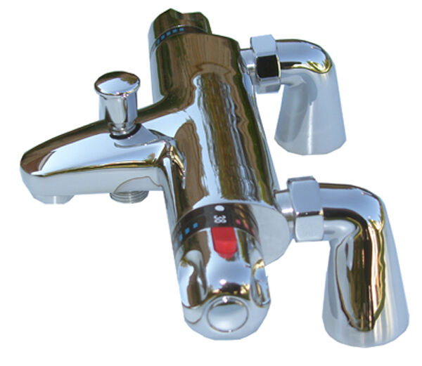 Thermostatic Bath Shower Mixer Taps 057d With 9