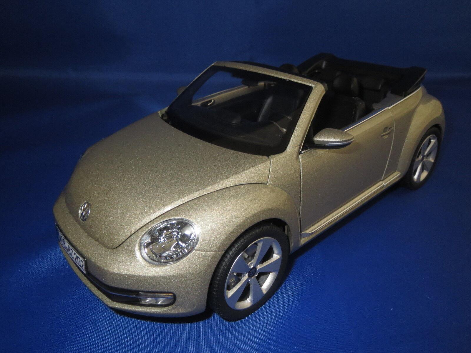 Célébrez Noël et bienvenue au au au Nouvel An Kyosho volkswagen beetle cabriolet (beige métallisé) 1:18 OVP   Dans Plusieurs Styles    Matériaux Soigneusement Sélectionnés    Qualité Supérieure  a765ef