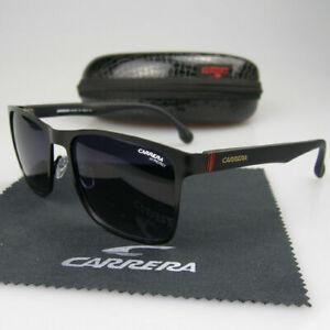 6b75fceabcaf Image is loading Men-Women-Retro-Sunglasses-Square-Matte-Black-Frame-