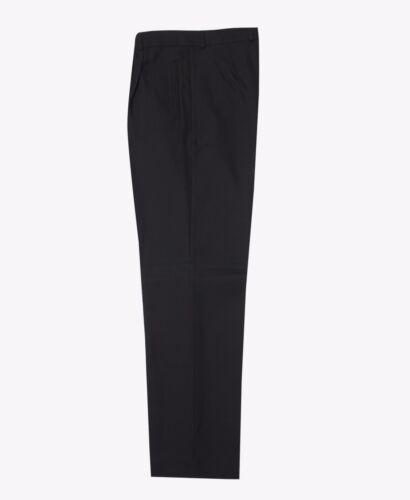 Tasca a pieghe Loose Fit nero per Ragazzi Pantaloni Uniforme Scolastica pantaloni NUOVI TVT