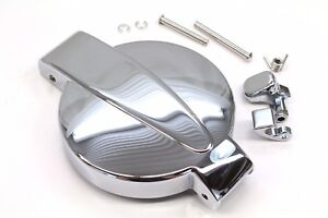 sping and latch Honda CB 500 Four K0 K1 K2 chrome cap fuel gas tank with pins