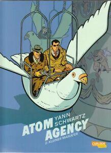 Atom Agency Nr. 1 + 2 zur Auswahl Hardcover Comic von Yann / Schwartz