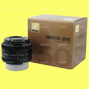 Genuine-Nikon-AF-Nikkor-50mm-f-1-8D-lens-50-mm-f1-8-f-1-8-D-with-Warranty