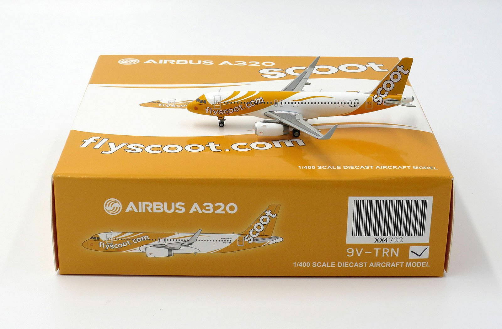 JC Wings 1 400 Scoot Singapore Airbus A320-200SL 'Conscious Coupling' 9V-TRN