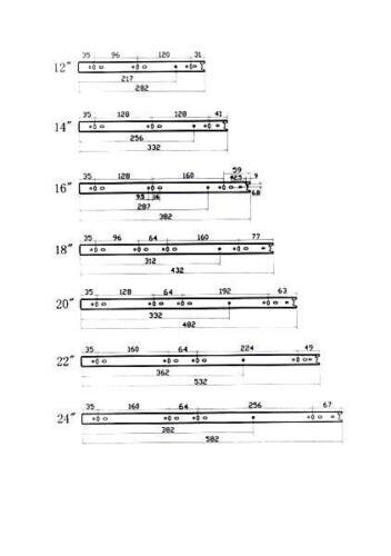 Soft-Close Vollauszug télescopique rail de tiroir RAIL Rails de tiroir 350 mm