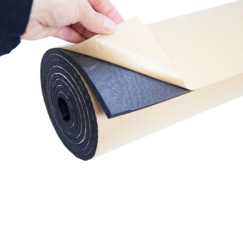 2Roll 7mm Car Sound Proofing Deadening Vehicle Insulation Close Cell Foam Noise