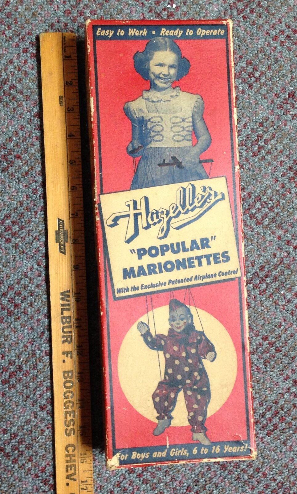 Vintage Hazelle's Popular Marionettes Penny