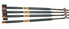 "BOAT FISHING RODS 30-50LB(4 Pack)""SLAYER"" FISHING ROD FOR PENN SHIMANO"