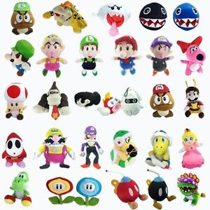 Super-Mario-Bros-Plush-TV-Character-Soft-Toy-Collectible-Nintendo-Doll-Figure