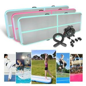 Airtrack-Inflatable-Air-Track-Tumbling-Gymnastic-Mat-Train-Gym-Floor-Home-Pump