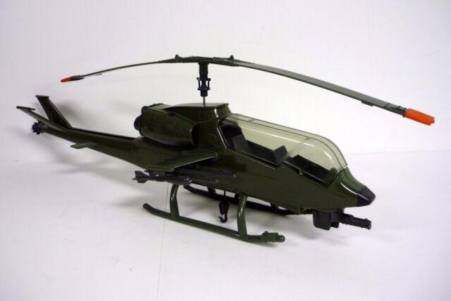 GI JOE DRAGONFLY Vintage Action Figure Vehicle Helicopter COMPLETE & WORKS 1983
