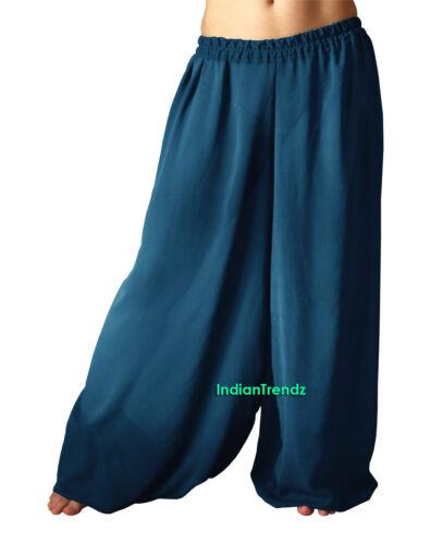 Harem Yoga Pant Belly Dance Pantaloons Trousers Baggy Hippy Aladdin Halloween