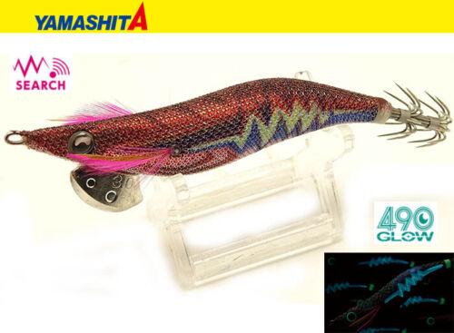 YAMASHITA 2019 New 490 Glow EGI-OH LIVE SEARCH 3.5 #024 Squid Jig From JAPAN