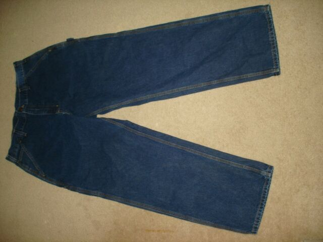 Carhartt Mens Loose Original Fit Work Jean Stone Washed MIdweight Denim Pant B13