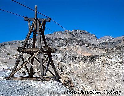 Aerial Tram Tower, Keane Wonder Mine, Inyo Cnty, California - Photo Print