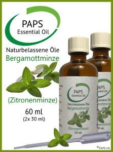 PAPS-Bergamottminze-Zitronenminze-60ml-100-zertifiziertes-aetherisches-Ol