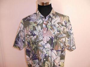 vintage CREATION ROYAL Hawaii Hemd surfer crazy pattern shirt 90s oldschool XL