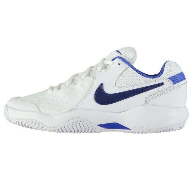 d59050724385 Nike Court Air Zoom Resistance Womens Tennis Shoe Size 9.5 White Blue  918201 100 for sale online