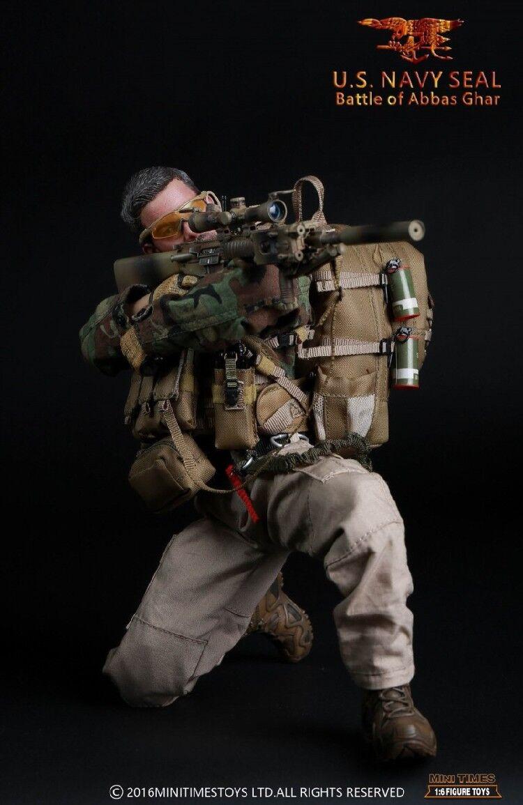 Mini Times toys US NAVY SEAL Battle of Abbas Ghar  1 6 Figure  expédition rapide