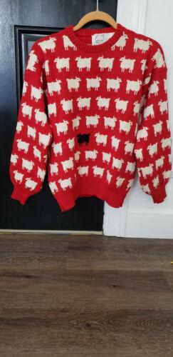 Princess Diana Vintage Black Sheep Sweater