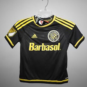 Image is loading MLS-Columbus-Crew-SC-Adidas-Soccer-Jersey-New- be0760fa4