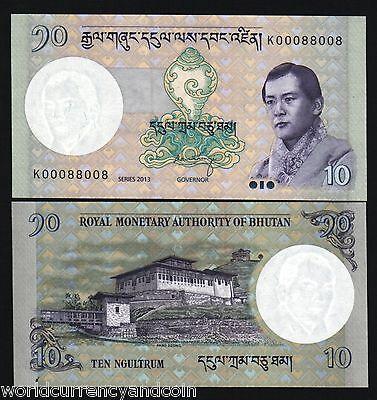 Lot Pack P-27 UNC Full Bundle 100 PCS Bhutan 1 Ngultrum
