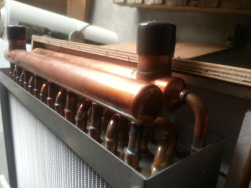 Outdoor Wood Furnace Boiler Water to Air Heat Exchanger 15X18 american royal