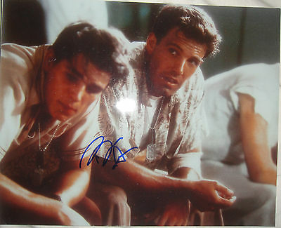 Autographs-original Spirited Rare Ben Affleck Signed 8x10 Photo W/proof W/coa Authentic Argo Oscar ?