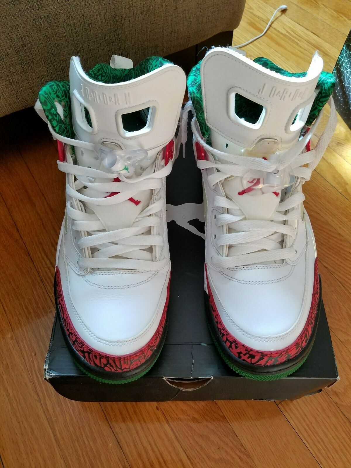 Nike Air Jordan Spizike White 315371 125 Air Max Men's Size 11