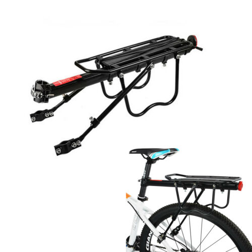 ROCKBROS MTB Fahrrad Gepäckträger Mit Reflektor Semi Schnellspanner Max.50kg Alu