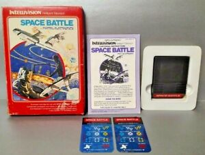 Space-Battle-Intellivision-Complete-Game-w-Game-Box-Manual-amp-Keypad-Covers