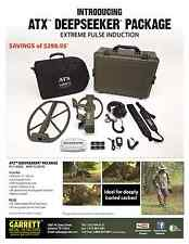 Garrett ATX Pro deepseeker Package Pulse Detector new with full warranty