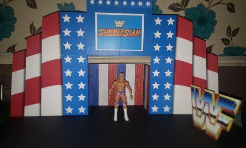 WWF//WWE SummerSlam Hecho a Medida 1993 Entrace escenario Para Figuras Lucha Libre