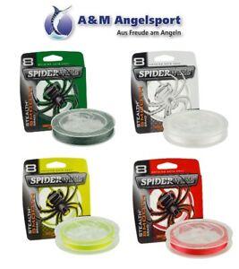 Spiderwire Stealth Smooth 8 Geflochtene Schnur 300m Grün / Weiß / Gelb / Rot